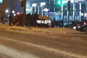 В Брянске ДТП возле ТЦ «Океан плаза» обошлось без пострадавших