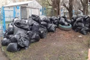Брянцы собрали на субботнике 820 кубометров мусора