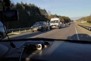 На въезде в Брянск со стороны Орла произошло два ДТП