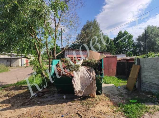 В Климове коммунальщики спасли улицу от свалки