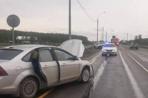 Под Брянском 56-летняя женщина на Nissan устроила тройное ДТП