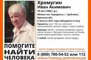 В Брянской области ищут заблудившегося в лесу 79-летнего Ивана Хромугина