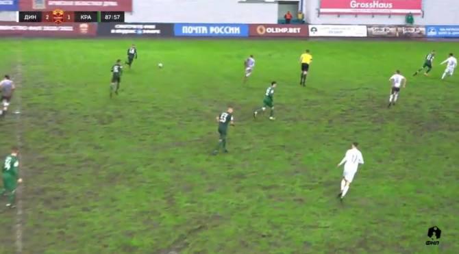 Брянское «Динамо» обыграло 2:1 «Краснодар-2»