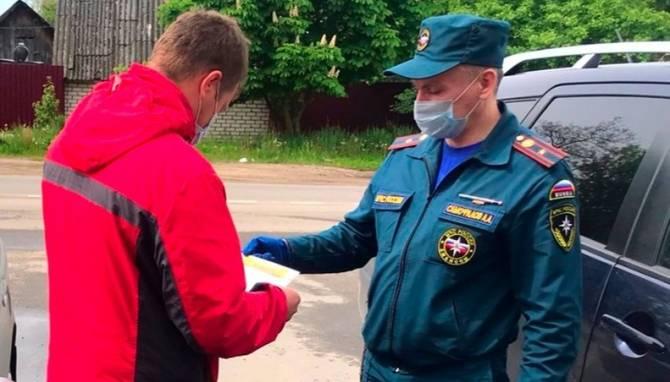 В Клинцах сотрудники МЧС отправились к людям из «группы риска»