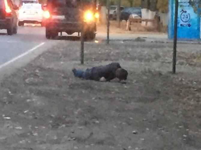 В Брянске на Новом городке зверски избили мужчину