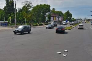 В Брянске запретили левый поворот к ДК железнодорожников
