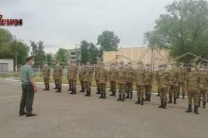 На военную службу в войска Росгвардии отправились 30 брянских юношей