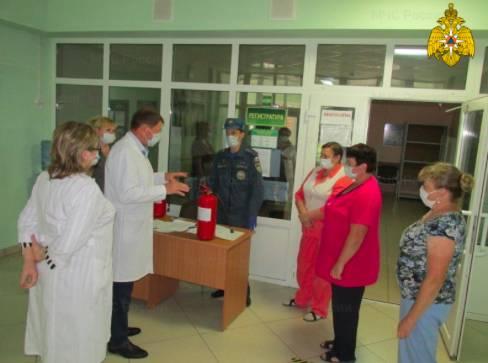 На Брянщине эвакуировали больницу и санаторий