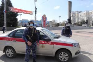 Более 100 брянских росгвардейцев обеспечили безопасность в День Победы