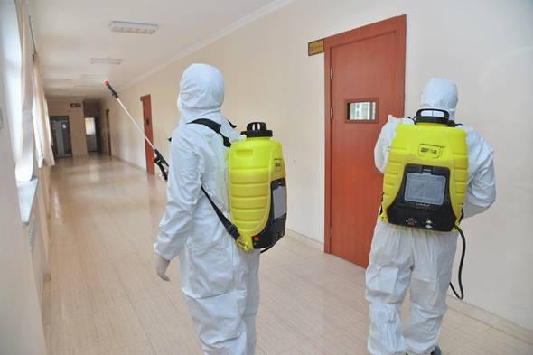 На Брянщине за неделю от COVID-19 продезинфицировали 30 объектов