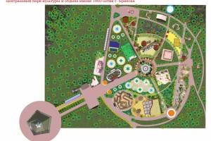 В Брянсе пообещали масштабно обновить парк «Соловьи»