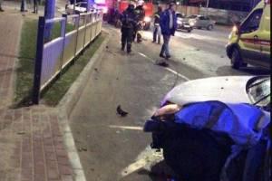 В Брянске на новой дороге к «Аэропарку» произошло крупное ДТП