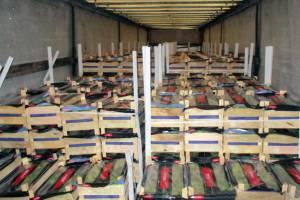 Брянские таможенники задержали 40 тонн груш и помело
