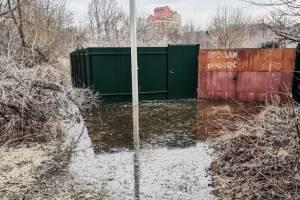 В Брянске затопило 6 приусадебных и садовых участков