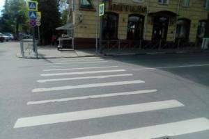 В Брянске на улице Фокина автоледи отбила почки 55-летней женщине