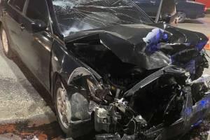 В Брянске в ДТП возле железнодорожного колледжа пострадал человек