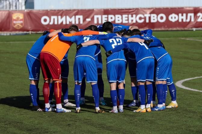 Брянское «Динамо» перезаключил контракты со своими воспитанниками