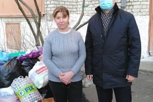 В Новозыбкове собрали вещи первой необходимости для погорельцев