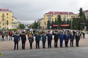 В Брянске почтили память воинов-пограничников