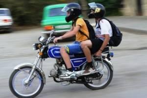 В Брянске поймали 14-летнего подростка на мотоцикле