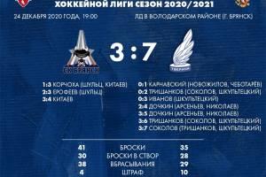 Брянские хоккеисты завершили год крупным поражением от «Тверичей»