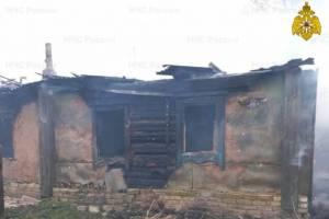 При пожаре в Брасовском районе погиб 81-летний мужчина