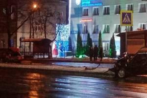 В Брянске на проспекте Московском столкнулись легковушки