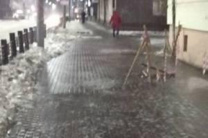 В Брянской области устраняют последствия «ледяного дождя»