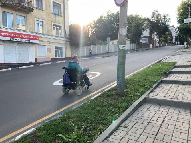 Недоступная брянская среда: разбитая улица Фокина
