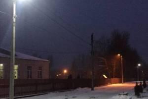 Ветер погрузил во тьму улицы Новозыбкова