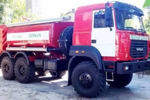 Брянские огнеборцы получили новую лесопожарную технику