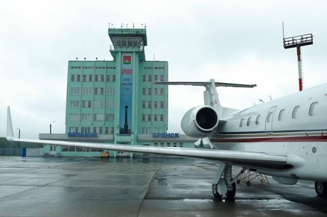 Внутренние рейсы из брянского аэропорта выполняются без изменений