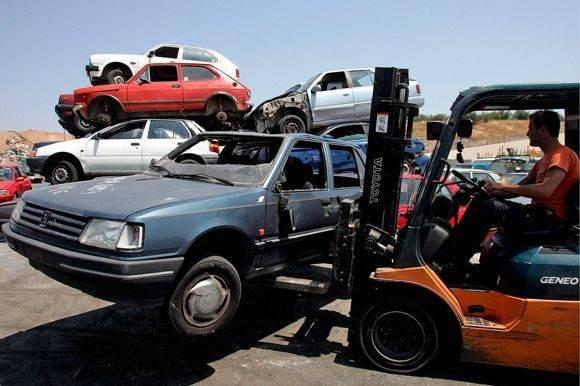 Брянец сдал на металлолом взятый в аренду автомобиль