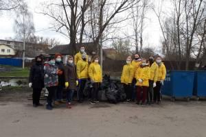 В уборке Фокинского района приняли участие более двух тысяч брянцев