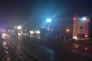 После страшного ДТП под Стародубом 23-летний водитель попал в реанимацию
