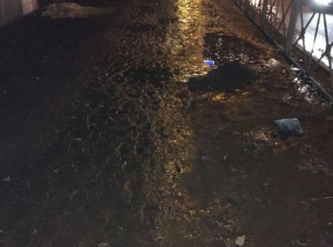 Пешеходы пожаловались на тротуар по улице Брянского фронта