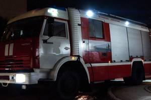 В Брянске сгорел частный дом на улице Горького