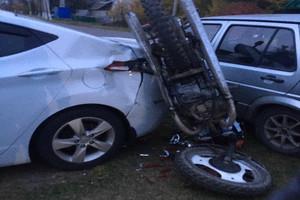В брянском поселке Локоть разбился 15-летний мотоциклист