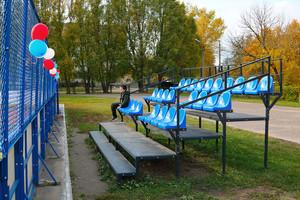 В брянской школе №36 открыли современную спортплощадку