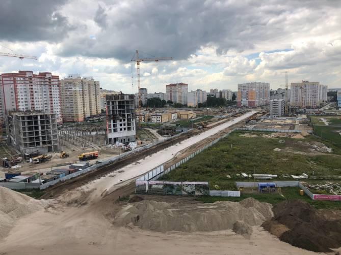 Брянцам показали строительство новой дороги по улице Горбатова