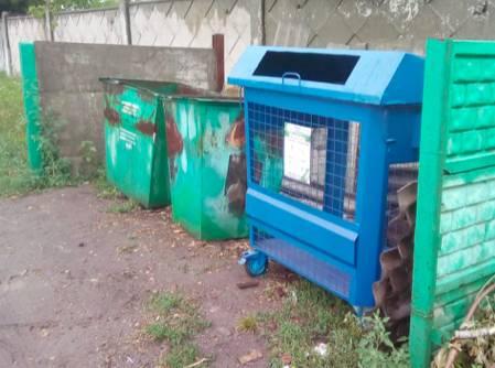 В Комаричах и Севске появились контейнеры для вторсырья