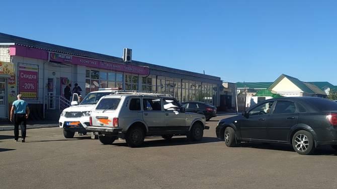 В Брасовском районе на парковке иномарка протаранила «Ниву»
