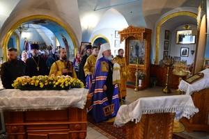 В Севске Петро-Павловский храм освятил митрополит Александр