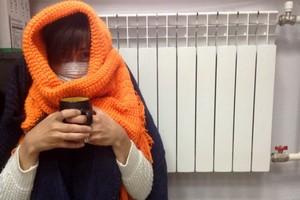 Жители военного городка в Карачеве бегут от холода в Брянск