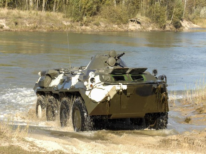 В Брянске начнут серийный выпуск новых БТР и БМП