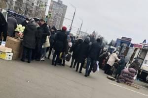 В Брянске на городской ярмарке забыли о социальной дистанции