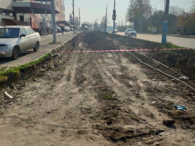 В Брянске начался второй этап расширения Городищенской горки