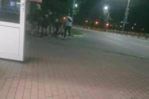 В центре Брянска произошла массовая драка
