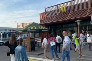 Голодные брянцы атаковали «Макдоналдс» на Кургане Бессмертия