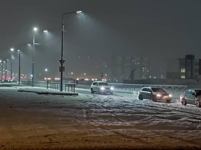 В воскресенье в Брянской области ожидаются мокрый снег и туман